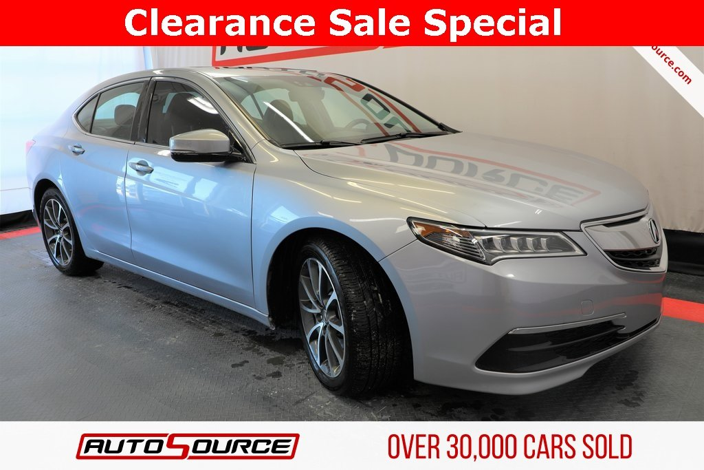 Pre Owned 2017 Acura Tlx V6 W Technology Pkg