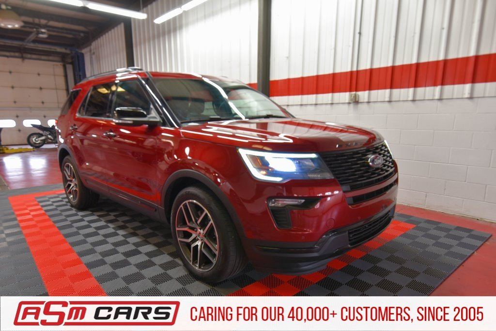 Pre-Owned 2018 Ford Explorer Sport