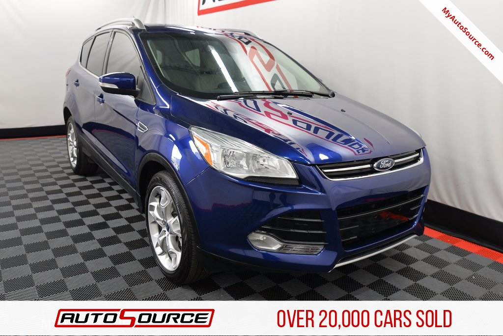 PreOwned 2015 Ford Escape Titanium 4D Sport Utility in Lindon UT