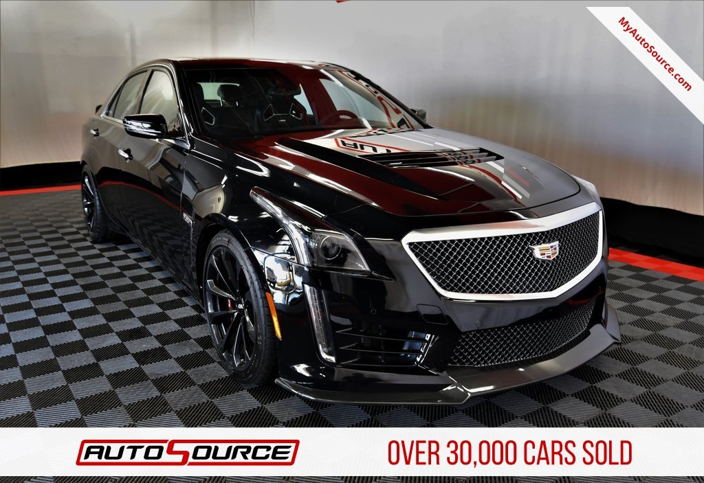 Pre Owned 2017 Cadillac Cts V Sedan
