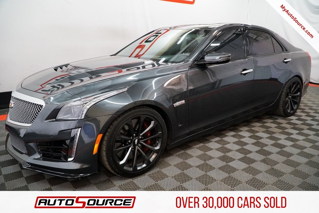 Pre Owned 2018 Cadillac Cts V Sedan 4dr Car In Las Vegas Nv 19695
