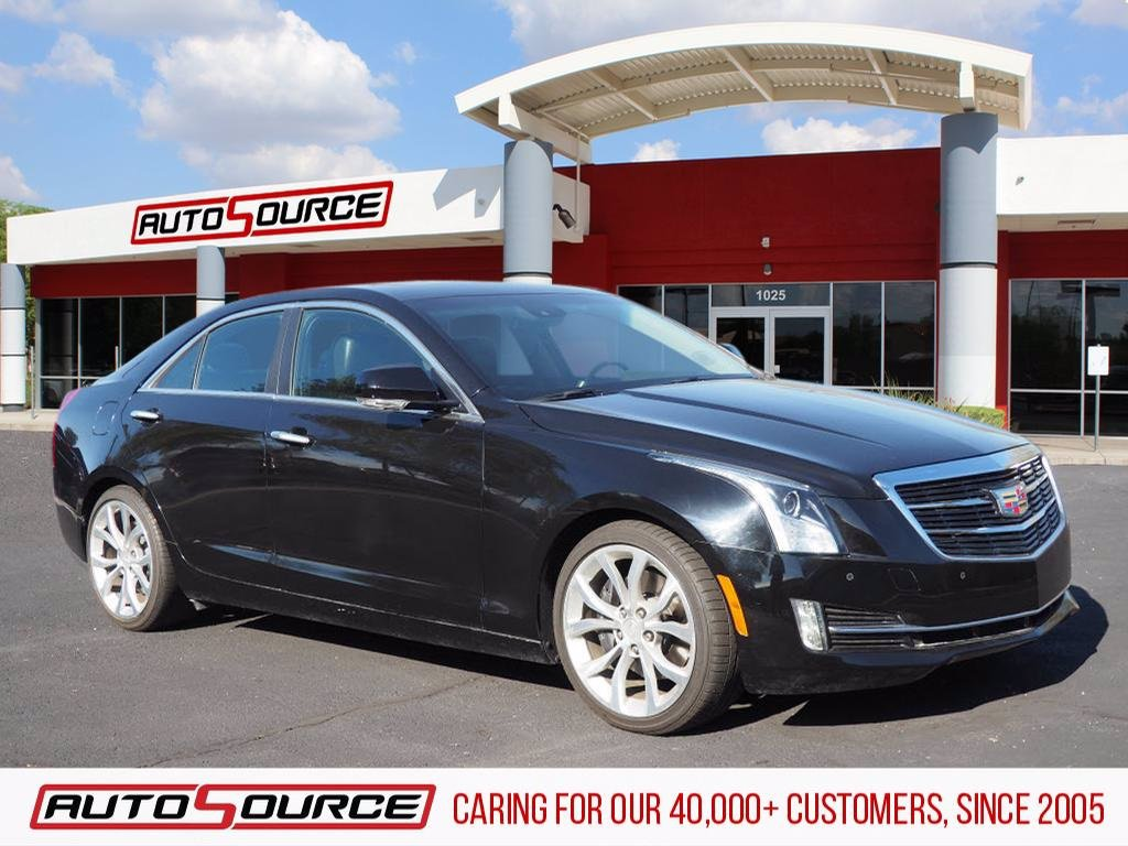 Pre-Owned 2017 Cadillac ATS 3.6L Premium Luxury