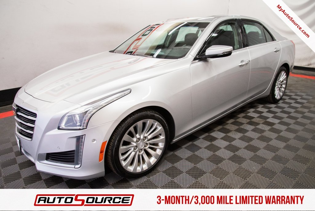 Pre-Owned 2015 Cadillac CTS Sedan Performance RWD