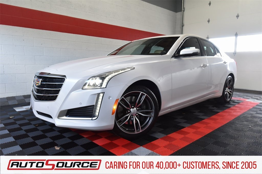 Pre-Owned 2018 Cadillac CTS Sedan Premium Luxury AWD