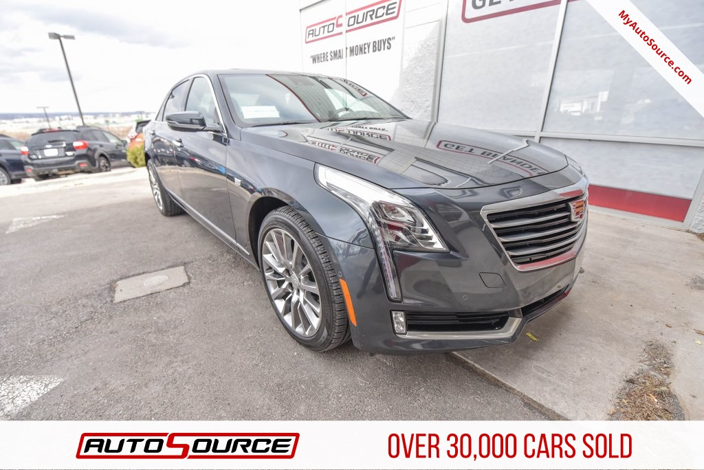 Pre-Owned 2018 Cadillac CT6 3.0L Twin Turbo Luxury