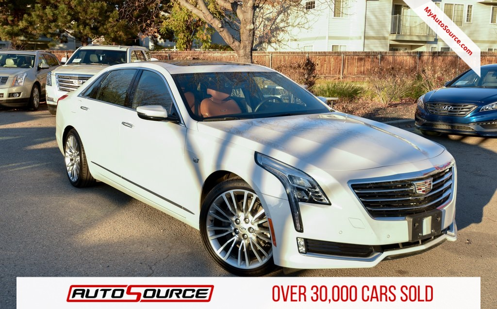 Pre-Owned 2016 Cadillac CT6 3.0L Twin Turbo Premium Luxury