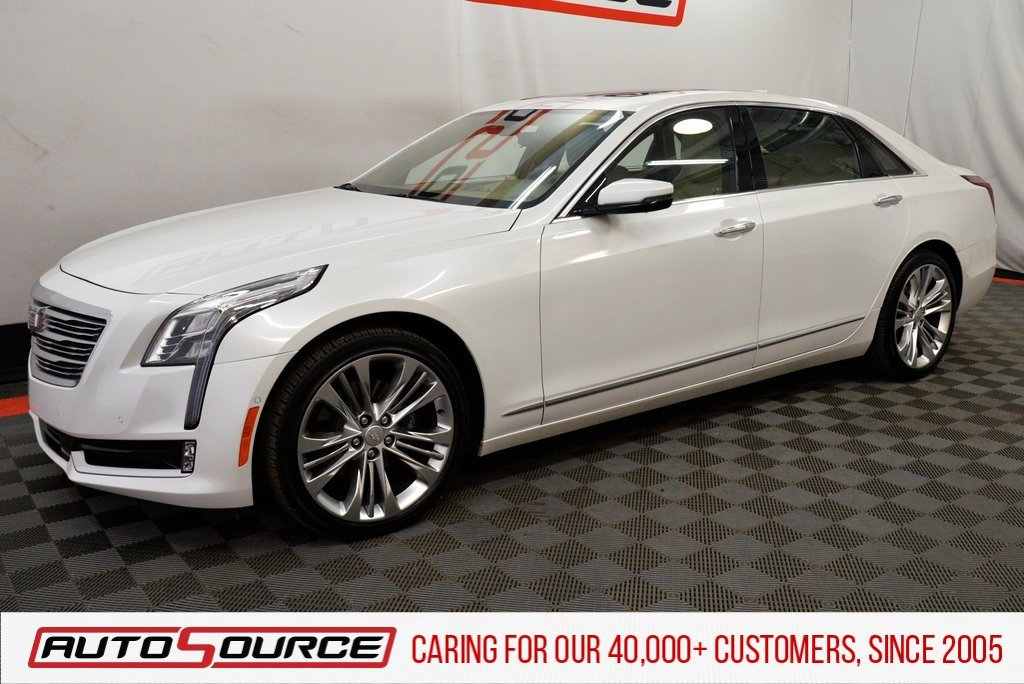 Pre-Owned 2017 Cadillac CT6 3.0L Twin Turbo Platinum