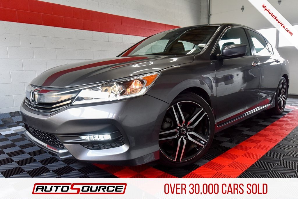 Pre Owned 2017 Honda Accord Sedan Sport Se