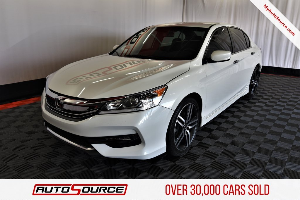 Pre Owned 2017 Honda Accord Sedan Sport