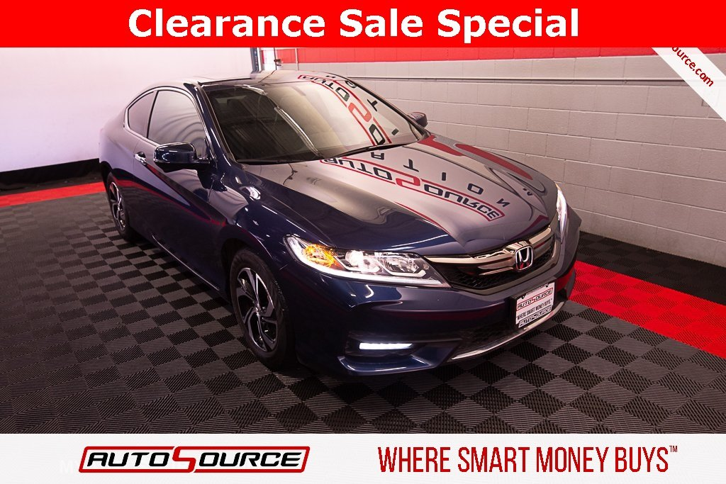 Pre-Owned 2017 Honda Accord Coupe EX-L