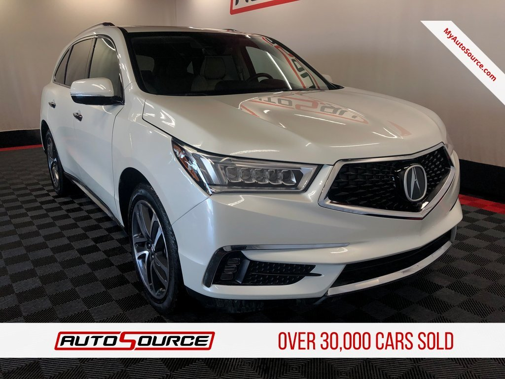Pre Owned 2017 Acura Mdx W Advance Pkg