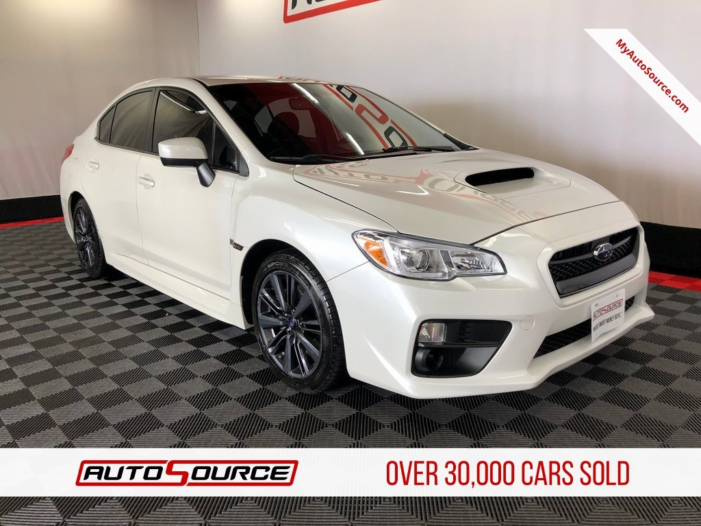 Pre Owned 2017 Subaru Wrx Base