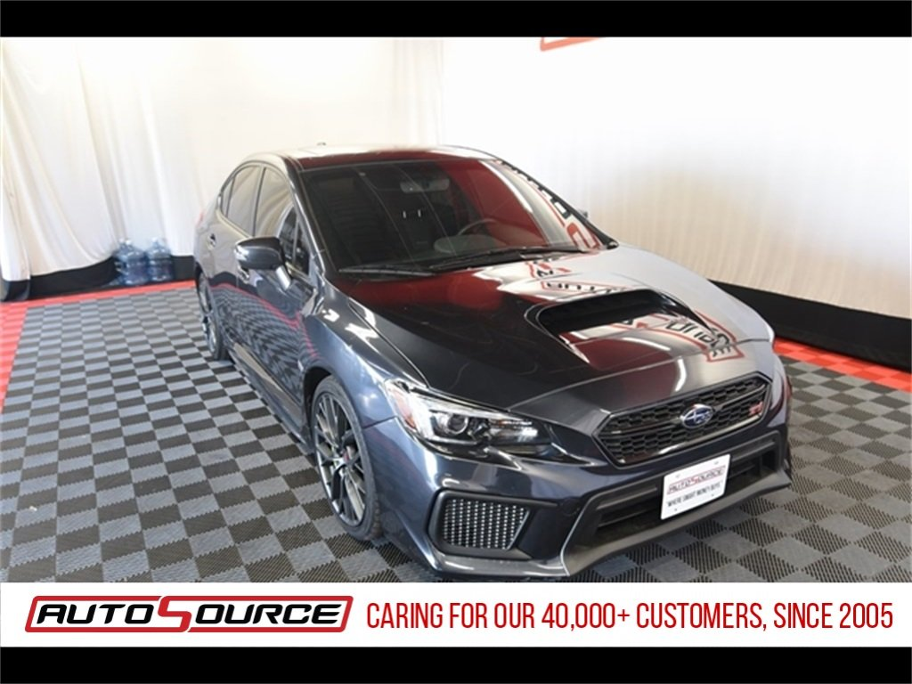Pre-Owned 2018 Subaru WRX STi Limited
