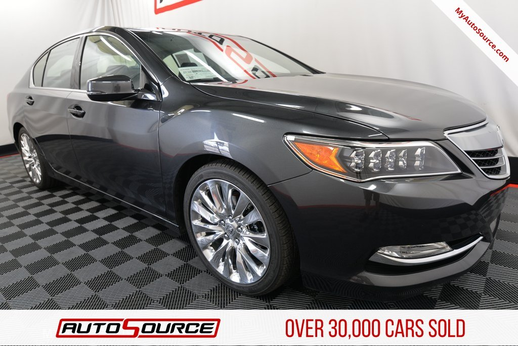 Pre Owned 2017 Acura Rlx W Technology Pkg
