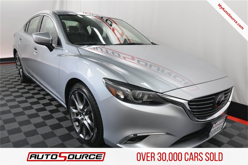 Pre Owned 2017 Mazda6 Grand Touring