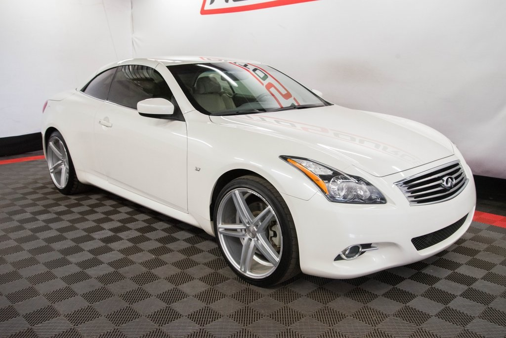 Pre Owned 2015 Infiniti Q60 Base 2d Convertible In Las Vegas Nv