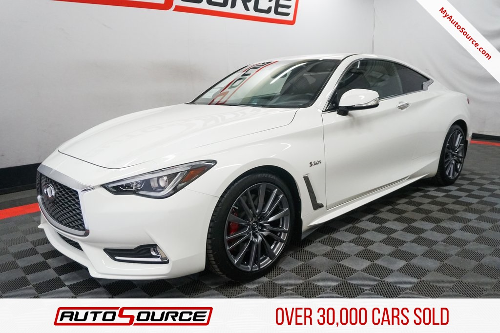 Pre Owned 2017 Infiniti Q60 Red Sport 400 2d Coupe In Las Vegas Nv