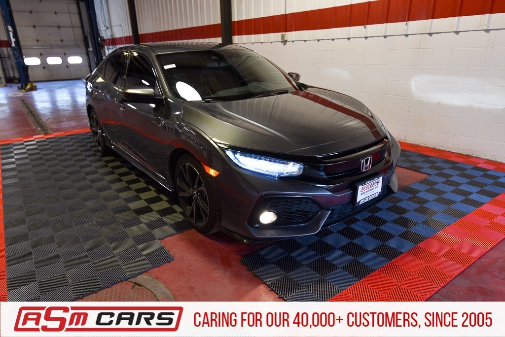 Pre-Owned 2018 Honda Civic Hatchback Sport Touring