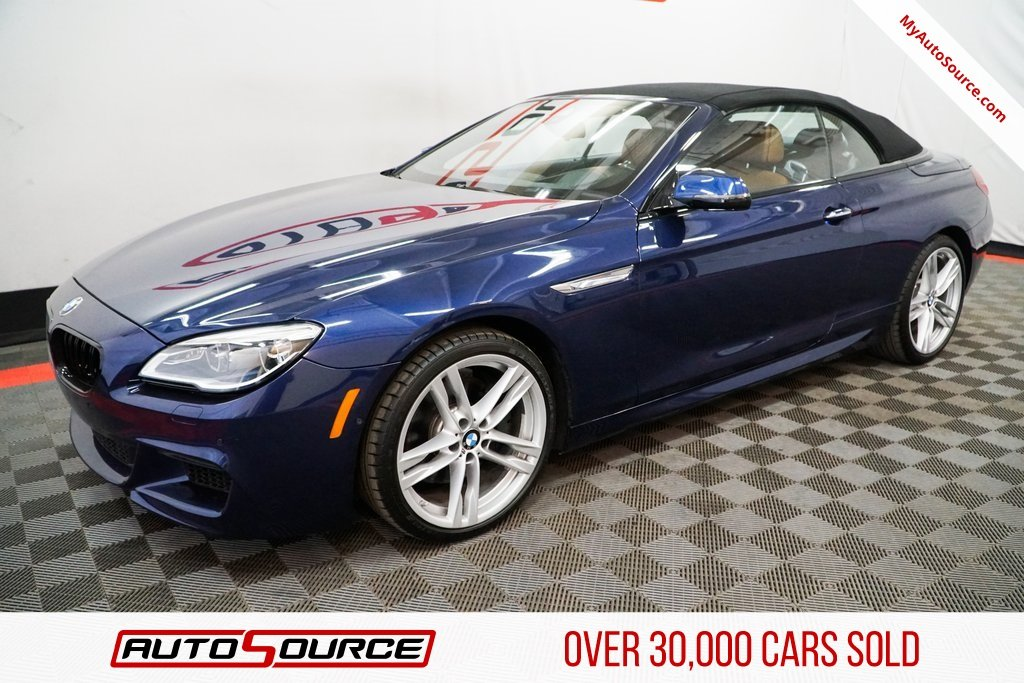 Pre Owned 2016 Bmw 6 Series 650i