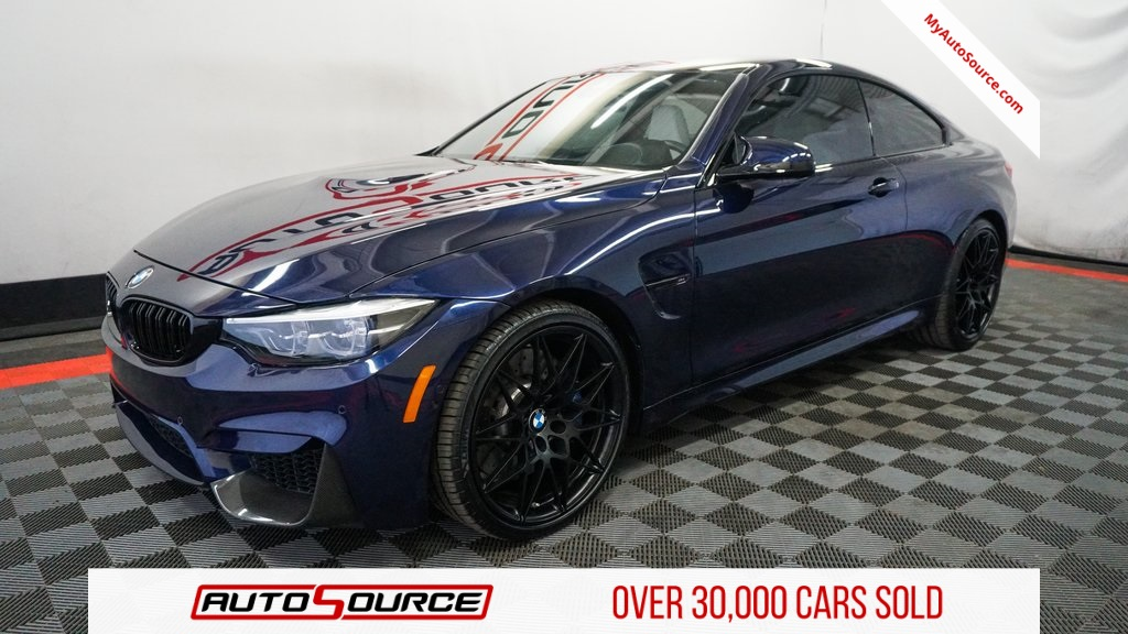 Pre Owned 2018 Bmw M4 Compeion Package