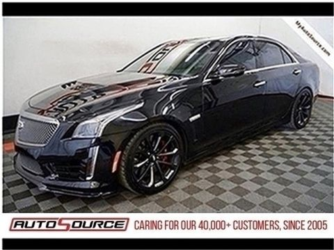 Pre-Owned 2018 Cadillac CTS-V Sedan Base