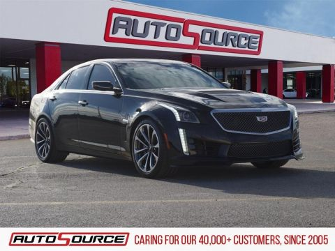 Pre-Owned 2016 Cadillac CTS-V Base