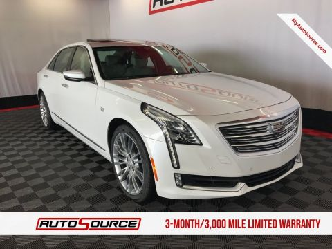 Pre-Owned 2018 Cadillac CT6 Premium Luxury AWD