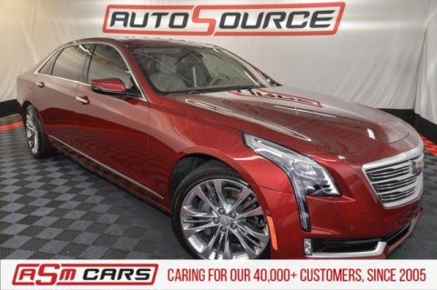 Pre-Owned 2018 Cadillac CT6 Platinum AWD