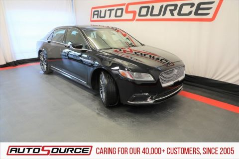 Pre-Owned 2017 Lincoln Continental Livery