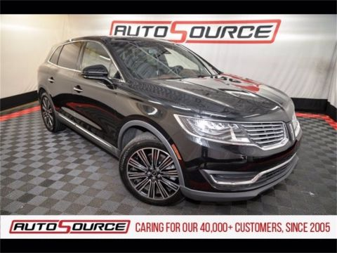 Pre-Owned 2017 Lincoln MKX Black Label
