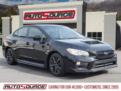 Pre-Owned 2018 Subaru WRX Base