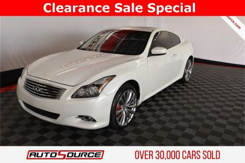 Pre-Owned 2015 INFINITI Q60 Coupe Base